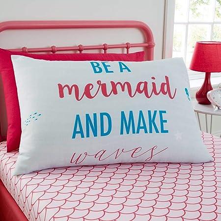 GC Mermaid World - Juego de Funda de edredón y Fundas de Almohada ...