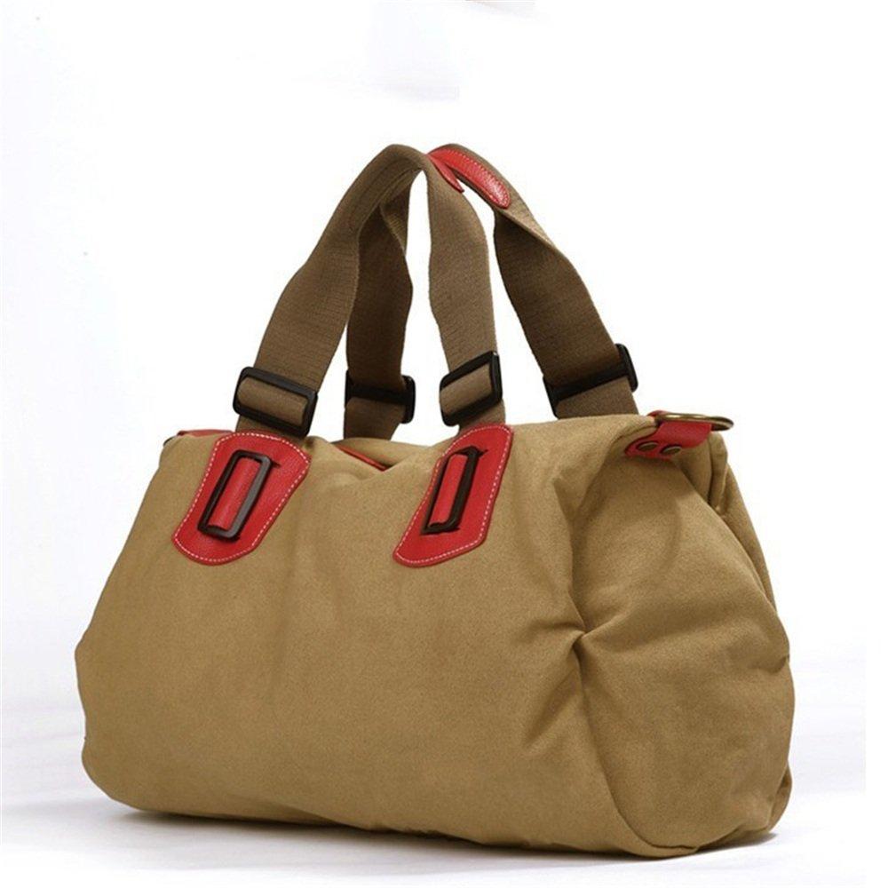Ybriefbag Unisex Canvas Bag Casual Fashion Shoulder Bag Handbag Canvas Bag Vacation