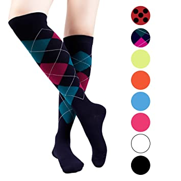 1983d5802e0863 Graduated Compression Socks (1 Pairs) 20-30 mmHg Upgrade Recovery Athletic  Exercise Socks