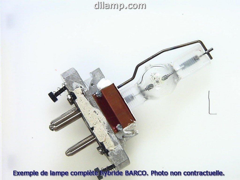 IQ 500シリーズBarcoデュアルプロジェクターランプ交換用。プロジェクターランプアセンブリwith Genuine Original Philips UHP電球内側、Contains 2ランプ。   B00IG74WKS
