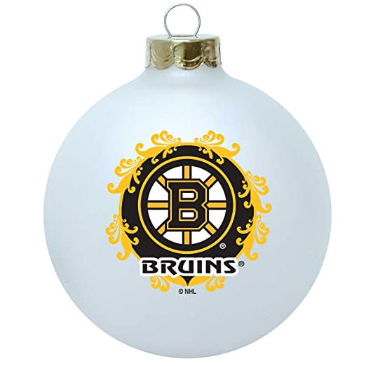 915c9c191eceb Amazon.com   NHL Boston Bruins Large Collectible Ornament   Sports Fan  Hanging Ornaments   Clothing