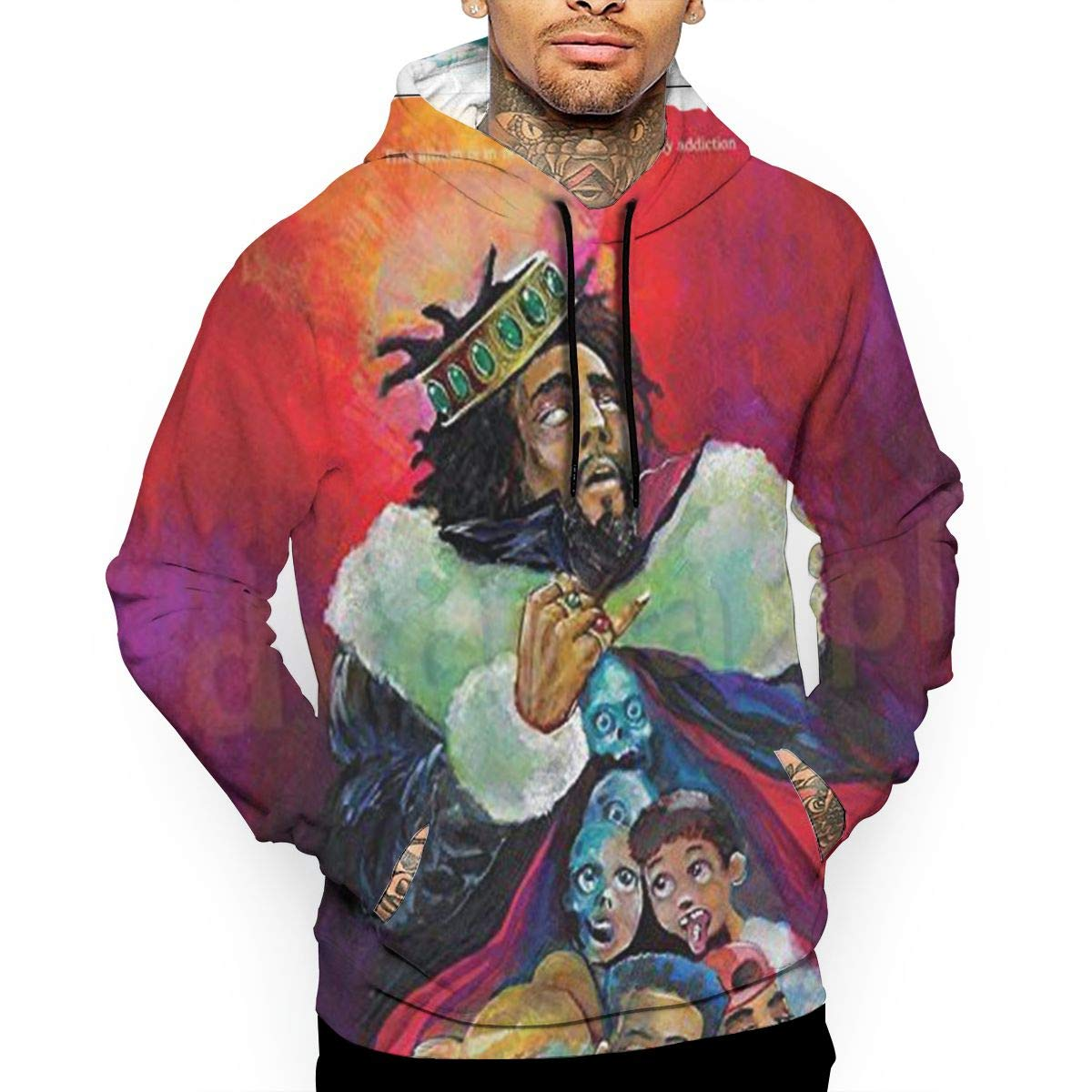 THORP.JENELLE J-Cole KOD Custom Men's 3D Sweater Hoodies