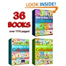 How to Draw Collection 1-36 Books (Over 1110 Pages) (How to Draw Collections Book 7)