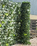 Woodside Artificial Ivy Leaf Garden Fence/Wall Privacy Screening Hedg