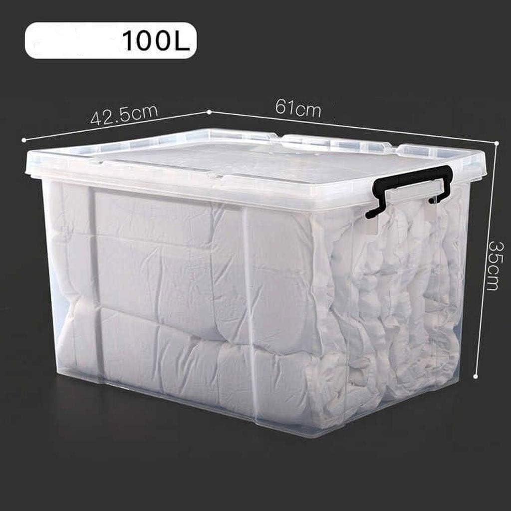 Organizadores de cajones Large caja de almacenamiento transparente ...