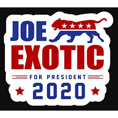 Joe Exotic 2020 Sticker - Tiger King President Decal Window: Arts, Crafts & Sewing