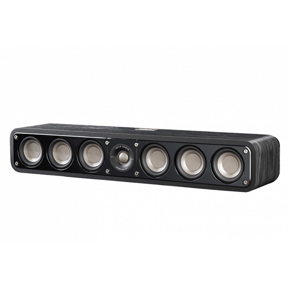 Polk Audio Signature Series S35 American Hi-Fi Home Theater Slim Center Speaker (Classic Brown Walnut)