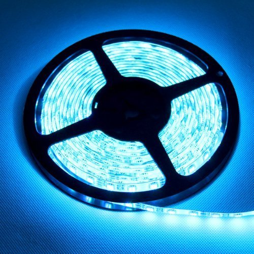DELED® 5050-RGB-LED-Strip 16.4FT SMD Water-Resistant 300LEDs RGB Flexible LED Strip Light Lamp Kit Plus 44 Key IR Remote Controller