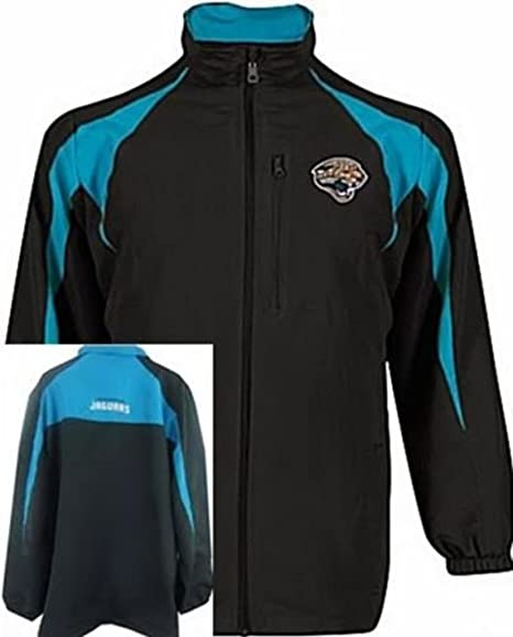 Jacksonville Jaguars NFL Team Apparel Midweight Blitz Jacket Big U0026 Tall ...