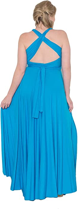 effabbe36e3 SWAK Womens Plus Size Eternity Maxi Convertible Dress. Sealed With A Kiss  Designs Plus Size Eternity Maxi Convertible Dress ...