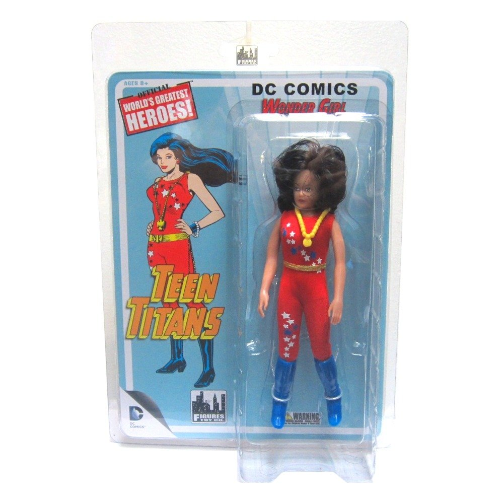 Wonder Girl Teen Titans Retro MEGO Replica DC Comics Series 1 Action Figure