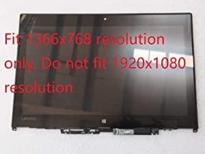 "12.5"" HD Touch Screen LCD LED Assembly W/Bezel LP125WH2-SPT2 fit Lenovo ThinkPad Yoga 260 01AX903 1366x768"
