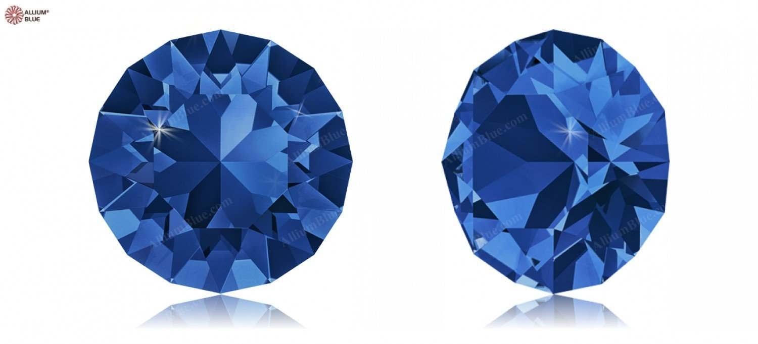 PP21 (2.70  2.80 mm) Swarovski Crystals 1170731 Round Stones 1088 SS 34 CAPRI blueE F, 144 Pieces