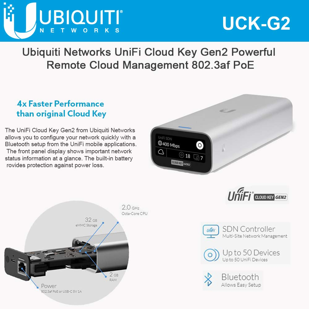 Ubiquiti Unifi UCK-G2 Hybrid Cloud Device Device - Remote Control