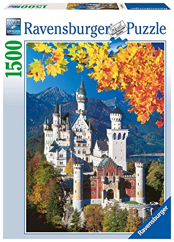 (Ravensburger Neuschwanstein Castle 1500 Piece Jigsaw Puzzle for Adults - Softclick Technology Means Pieces Fit Together)