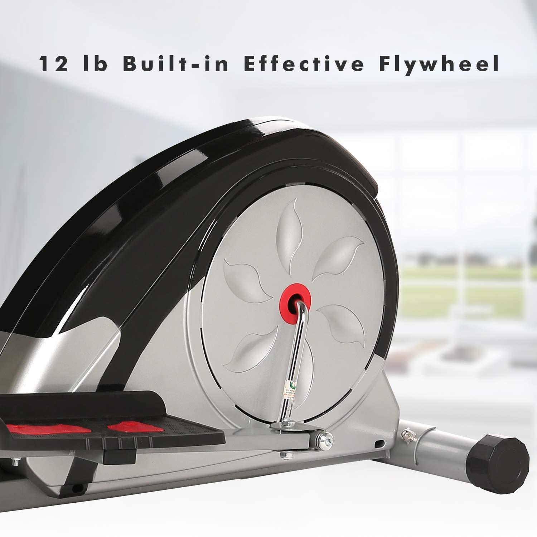 ncient Elliptical Trainer Magnetic Control Smooth Quiet Elliptical Machine Trainer,Top Levels Elliptical Trainer (Elliptical Machine) by ncient (Image #5)