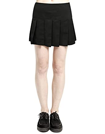0e617ccc7 Tripp Black Pleated Skirt at Amazon Women's Clothing store: