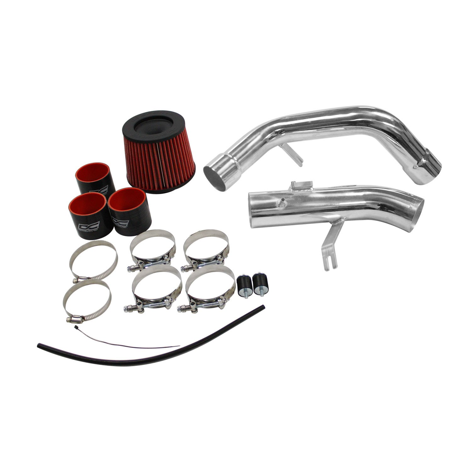 DC Sports CAI4007A Polished Cold Air Intake System