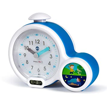 Claessens' Kids Kid'Sleep My First Alarm Clock and Sleep Trainer, Blue