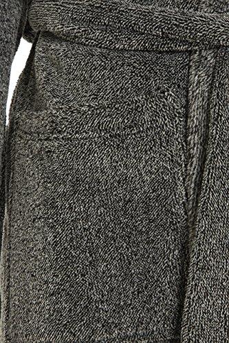 Flauschiger Herren-Bademantel mit Kapuze, Qualität und Komfort,tolles Geschenk