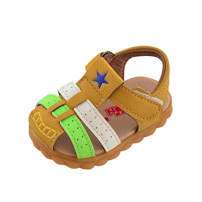 Zapatos de bebé ❤️Xinantime Zapatos Baby Boys Zapatillas de deporte Patchwork de moda Calzado infantil