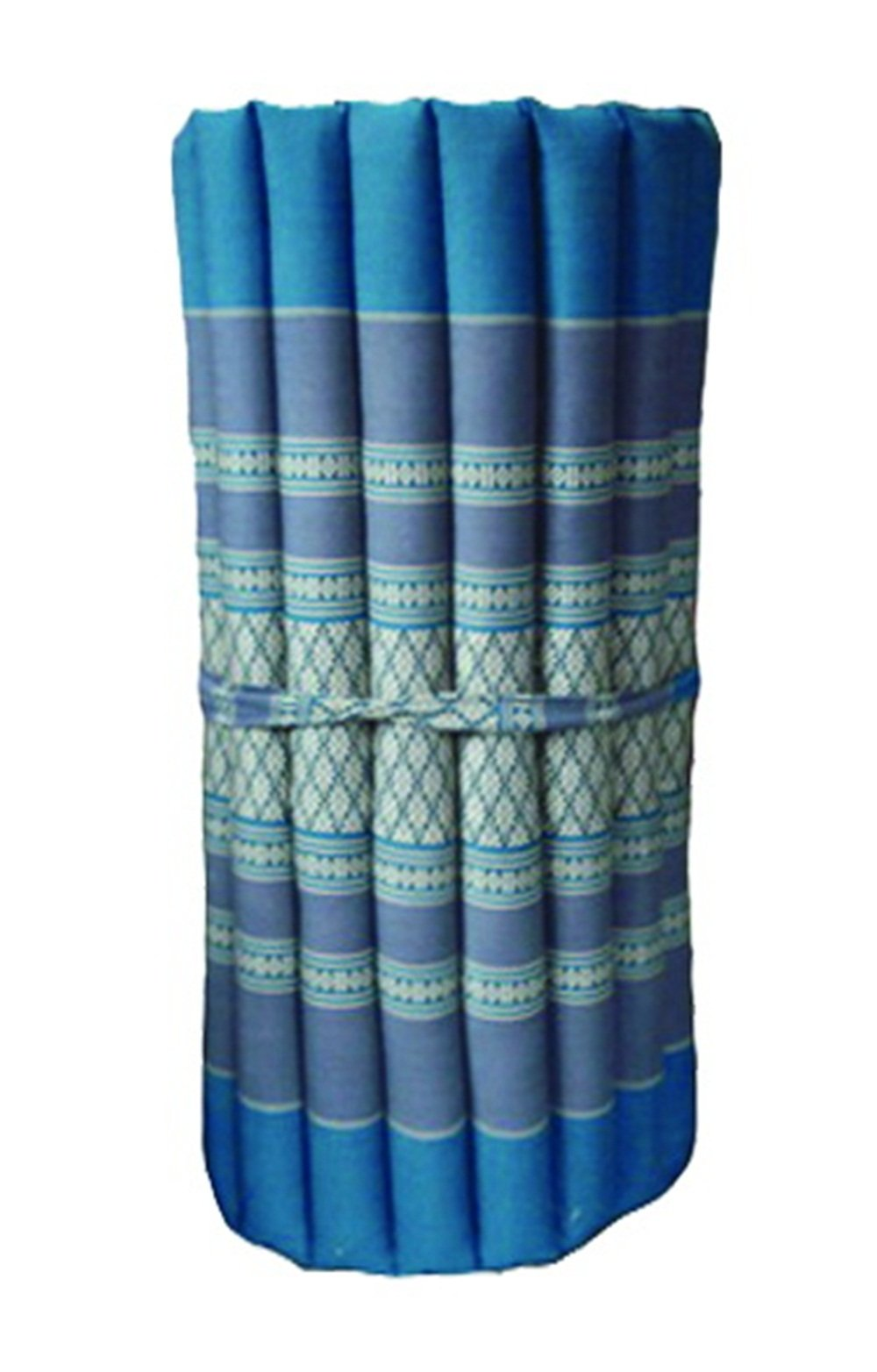 Thai Mattress Roll Up, 21.65 * 63 * 3inch, Kapok, Blue by Thai Mattress