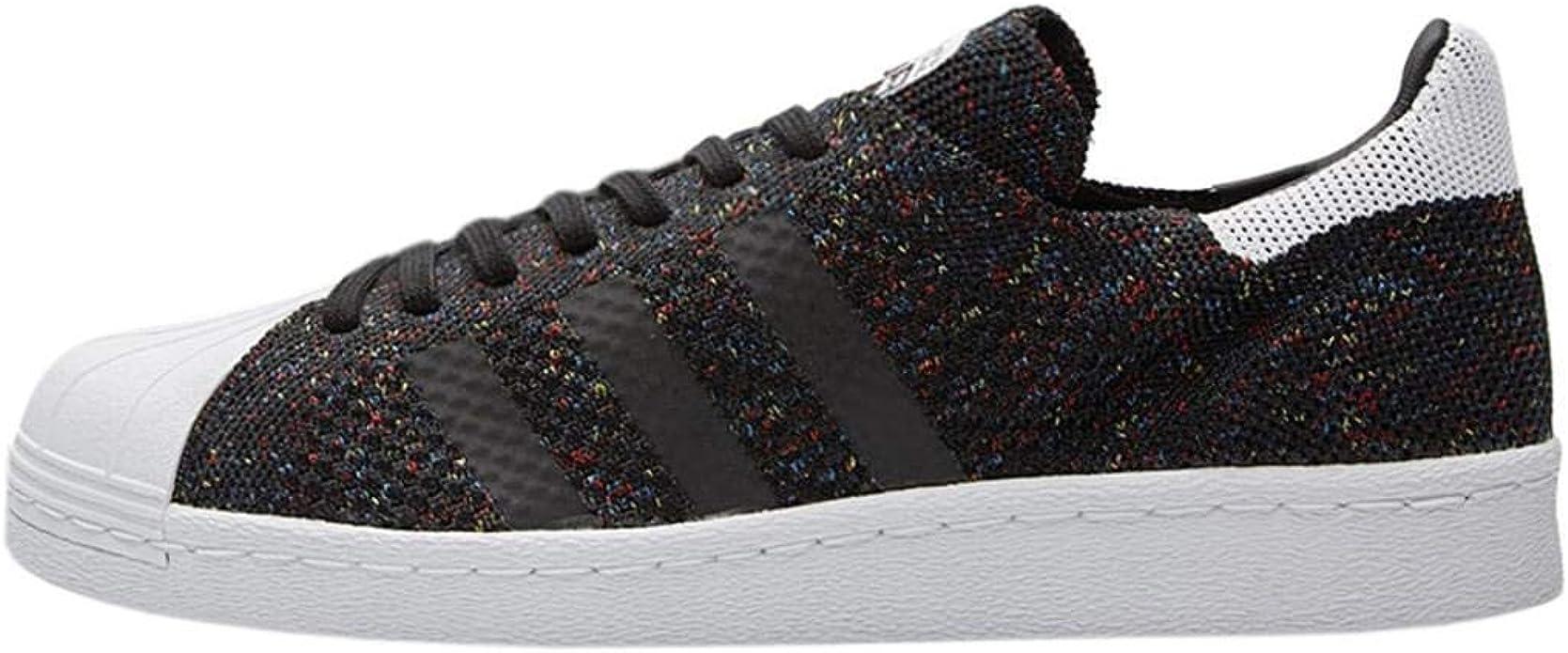 Escepticismo enemigo felicidad  adidas Superstar 80's Primeknit Men's Sneaker Black, Core Black/FTWR White,  Size 49 1/3 UK 13: Amazon.co.uk: Shoes & Bags