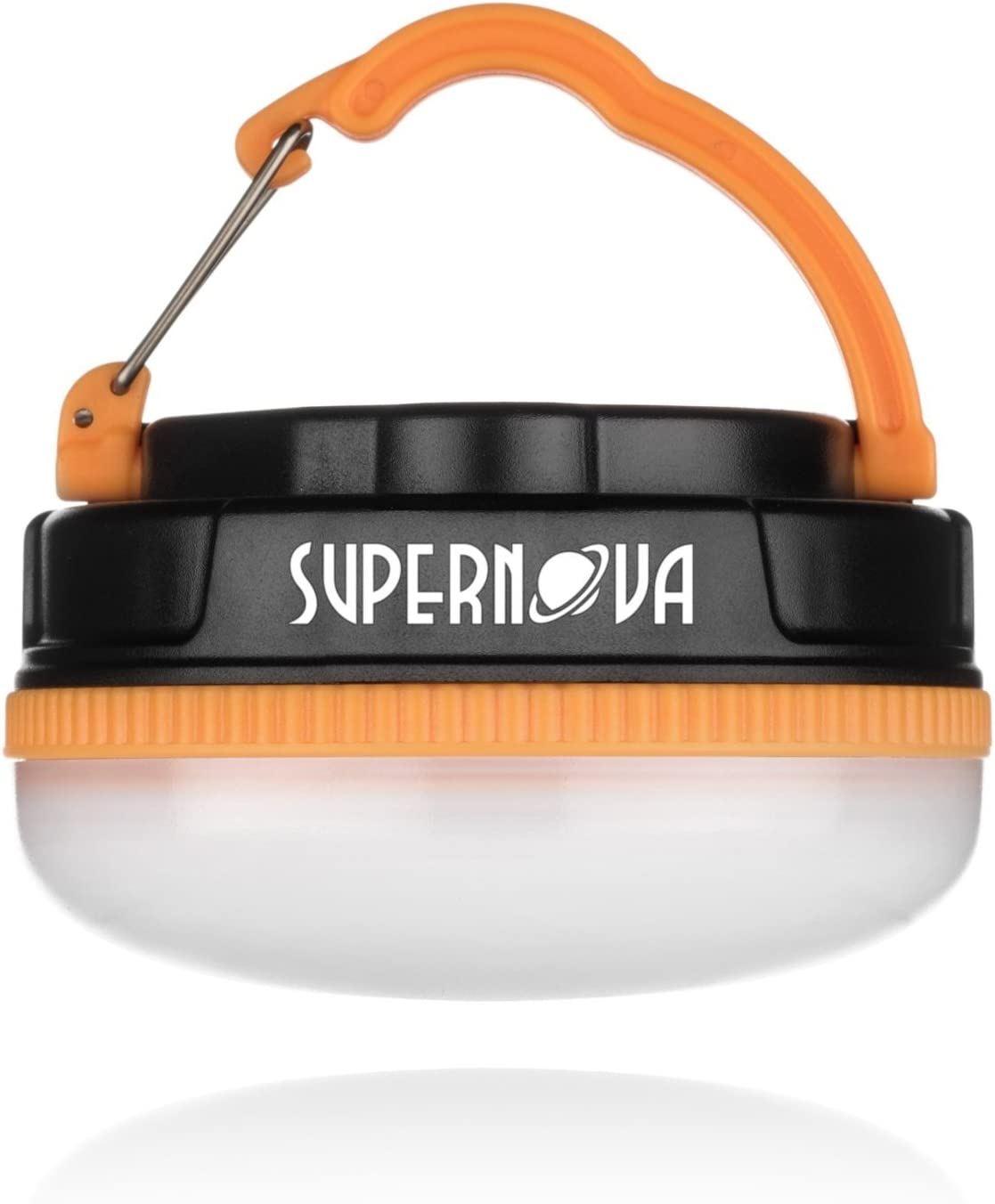 Supernova Halo 180 Extreme Rechargeable LED Camping and Emergency Lantern – The Brightest, Most Versatile, and Compact Utility Lantern Available – Perfect for Backpacking – Emergencies – Tents – Auto – Home – College