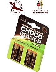 Eurochocolate CHOCOPOWER Cioccolato Fondente al Guaranà Confezione 42gr.