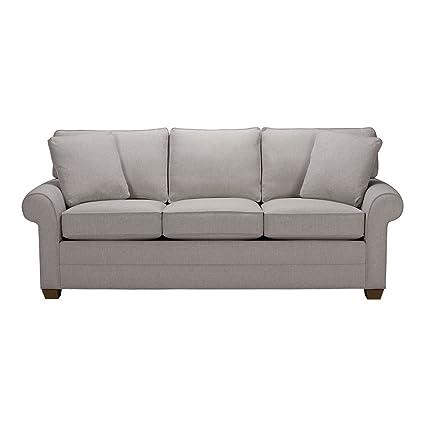 Superieur Ethan Allen Bennett Roll Arm Sofa, 86u0026quot; Sofa, Hailey Slate Textured  Fabric