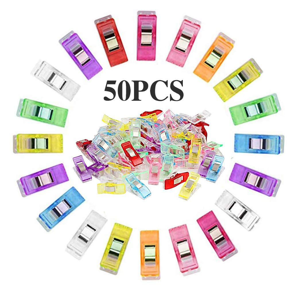 10-50Pcs Patchwork Sewing Clips Clamp for Craft Quilting Sewing Knitting Crochet