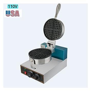 zinnor belga Waffle Maker, horno eléctrico Huevo tarta Puff |110 V Pan eléctrica acero