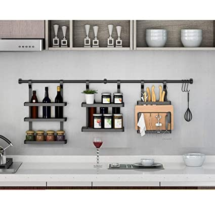 Buy Indian Decor 31 Kitchen Racks American Wall Mounted Stainless