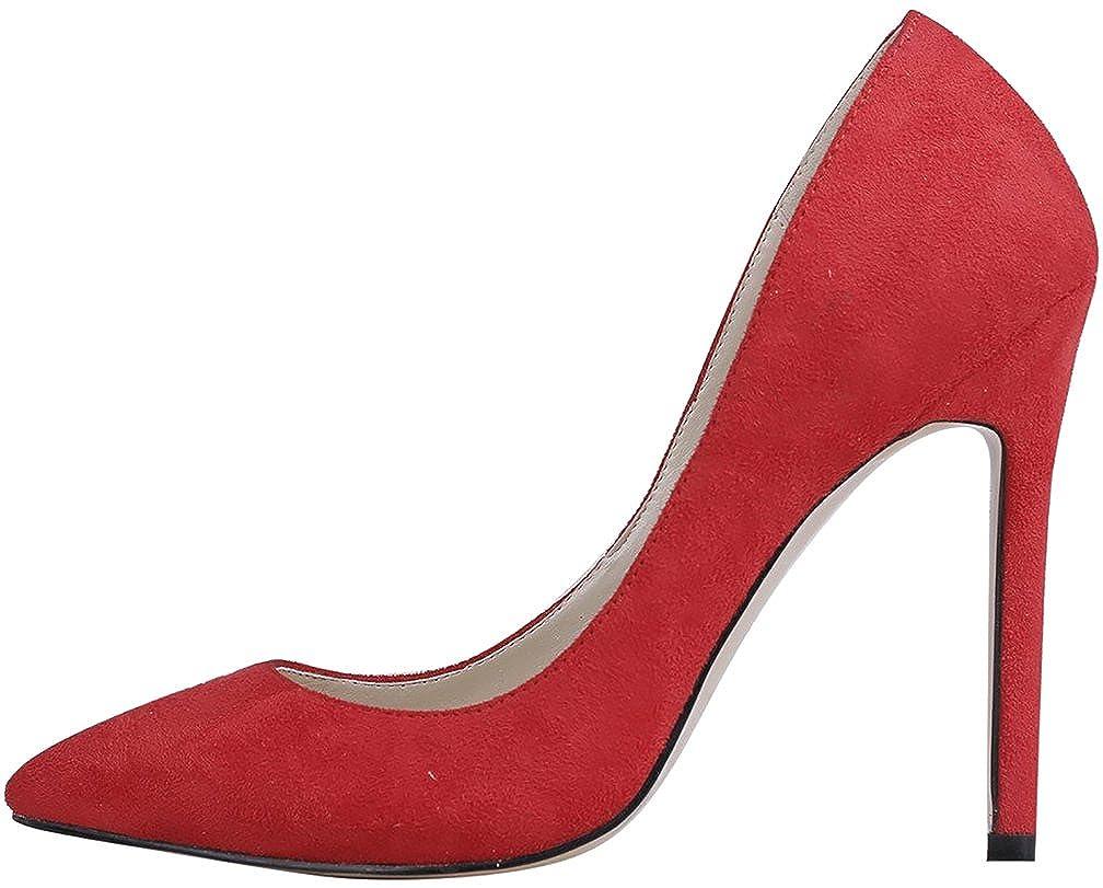 Calaier Damen Caright 10CM Stiletto Schlüpfen Pumps Schuhe Schuhe Schuhe 2fd85c