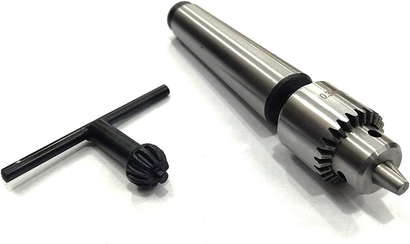 1-16mm precision-keyless drill chuck with MT2 arbor and M10 draw bar