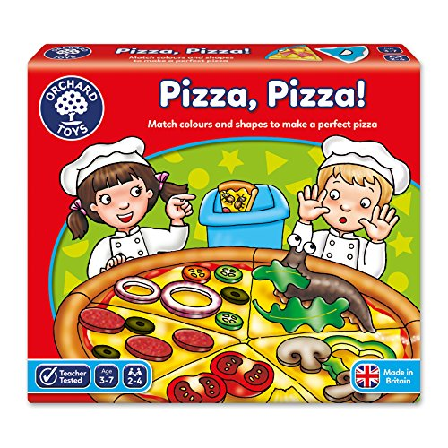 Orchard Toys Pizza, Pizza! Children's Game, Multi, One Size ()