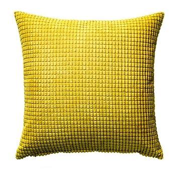 IKEA GULLKLOCKA - Housse de coussin, jaune