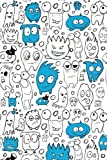 Sketch Journal: Little Monsters (Blue) 6x9 - Pages
