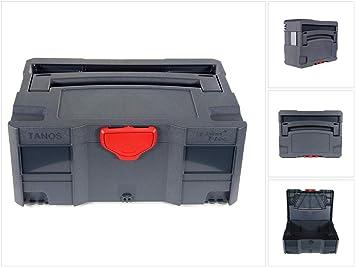 Tanos Systainer T-Loc II Antracita apilable Caja de transporte ...