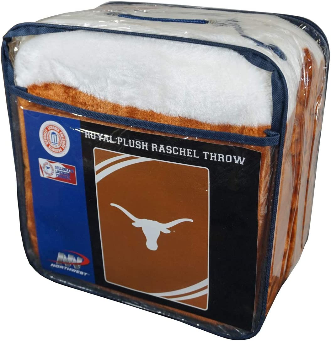 Northwest Texas Longhorns Plush 60x80 Rachel Blanket
