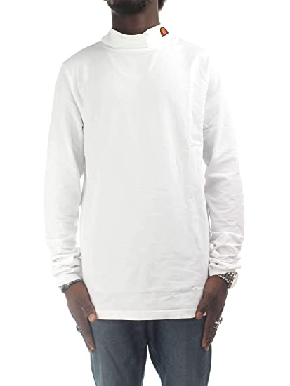 e592f96f9c ellesse Amica Mens Long Sleeved T-Shirt in White: Amazon.co.uk: Clothing