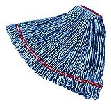 Rubbermaid Commercial Swinger Loop Mop, Large, Blue, FGC11306BL00