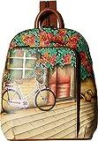 Anuschka Handbags Women's 487 Sling Over Travel Backpack Vintage Bike Handbag