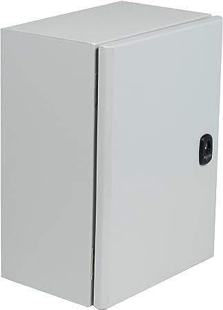 NSYS3DC12830 - Caja metálica, multiusos, eléctrica/industrial, acero, 1,2 m, 800 mm, 300 mm, IP66 (NSYS3DC12830): Amazon.es: Bricolaje y herramientas