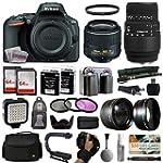 Nikon D5500 Digital Camera with 18-55...