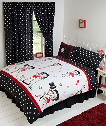 Merveilleux Single Bed Betty Boop Super Star, Duvet / Quilt Cover Bedding Set Fully  Reversible,