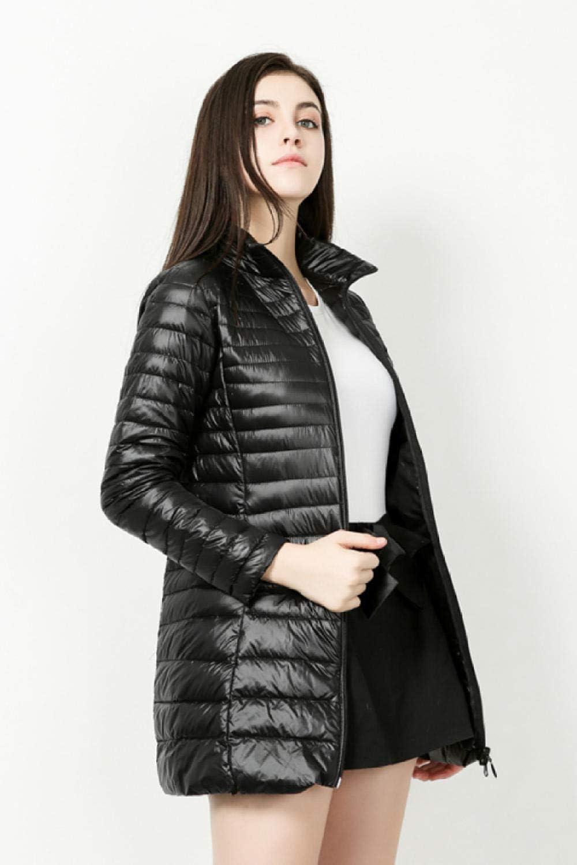 smilecstar Giacca, Cappotto Invernale da Donna, Disponibile in Colori, Taglie nero