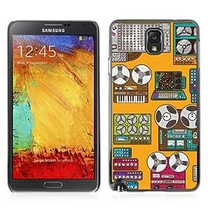 YOYOSHOP [Cool Retro Devices Art] Samsung Galaxy Note 3 Case