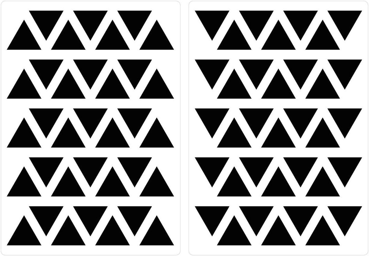 Tapisserie pastelles triangles en Moderne Couleurs 70 pièces Jeunesse Chambre
