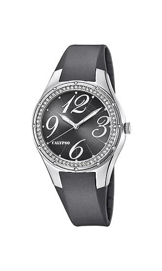 Calypso Reloj Análogo clásico para Mujer de Cuarzo con Correa en Plástico K5721/5